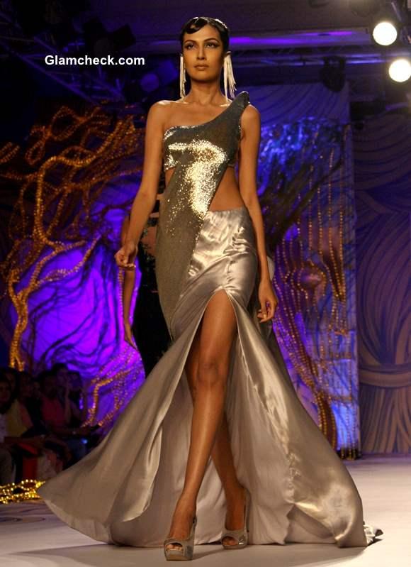 designer Gaurav Gupta collection at Delhi Couture Week 2013