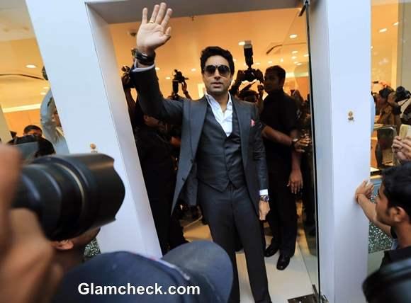 Abhishsek Bachchan Launches Omega Watches Flagship Store in Kolkatta