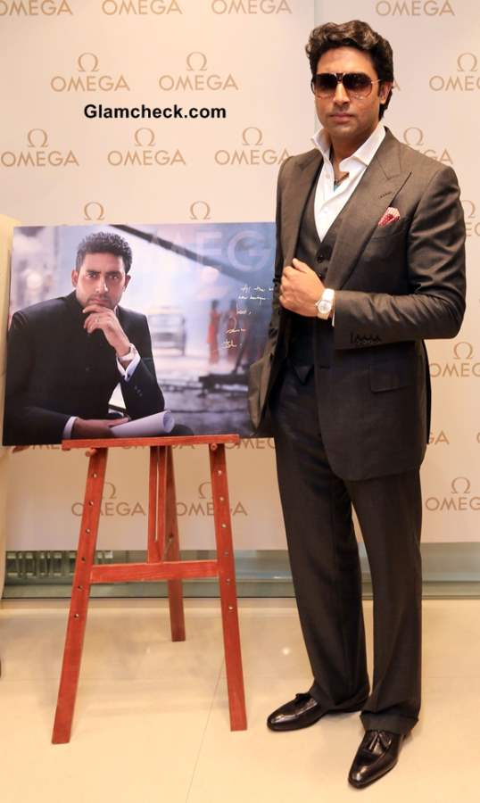 Abhishsek Bachchan at Omega Watches Flagship Store launch in Kolkatta