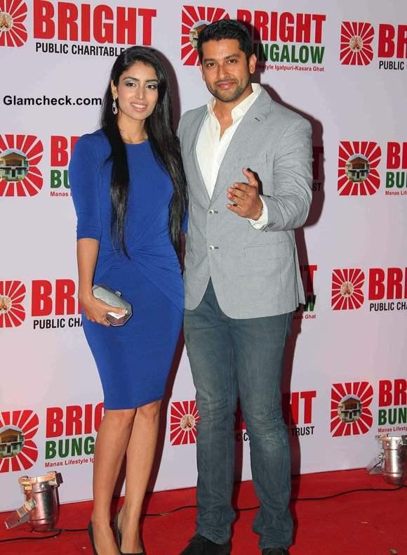 Aftab Shivdasani and his girlfriend Nin Dusanj