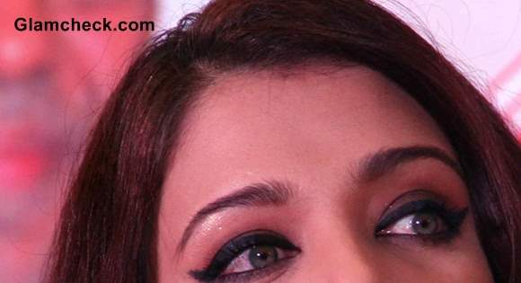 Aishwarya Rai Eye Makeup winged eyeliner 2013