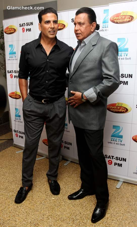 Akshay Kumar Mithun-Da Promote Boss on Dance India Dance