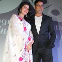 Akshay Kumar Nimrat Kaur 4th Jagran Film Festival