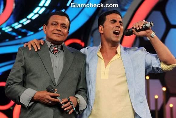 Akshay Kumar and Mithun-Da Promote Boss on Dance India Dance