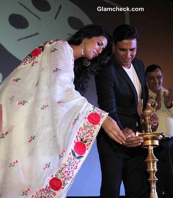 Akshay Kumar and Nimrat Kaur Launch 4th Jagran Film Festival
