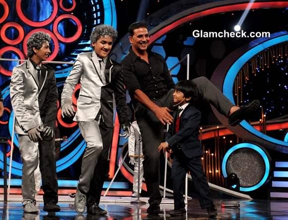 Akshay Kumar on Dance India Dance