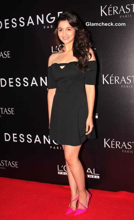 Alia Bhatt 2013 pics in Little Black Dress