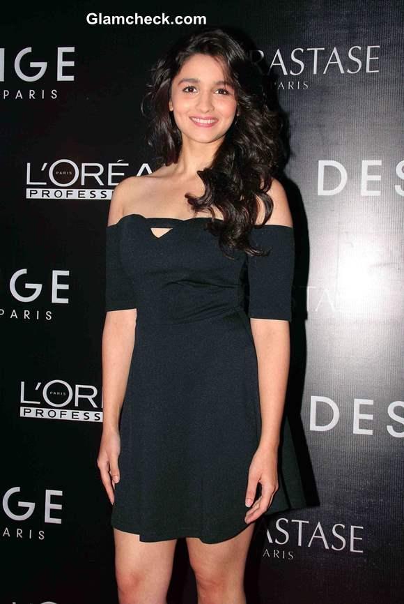 Alia Bhatt at Dessange Beauty Salon Launch