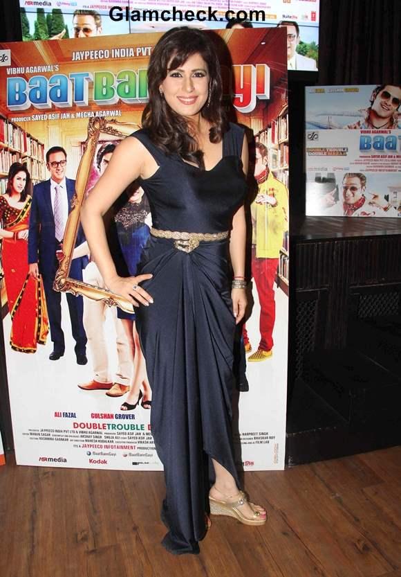 Amrita Raichand at Music release of Baat Bann Gayi in Mumbai