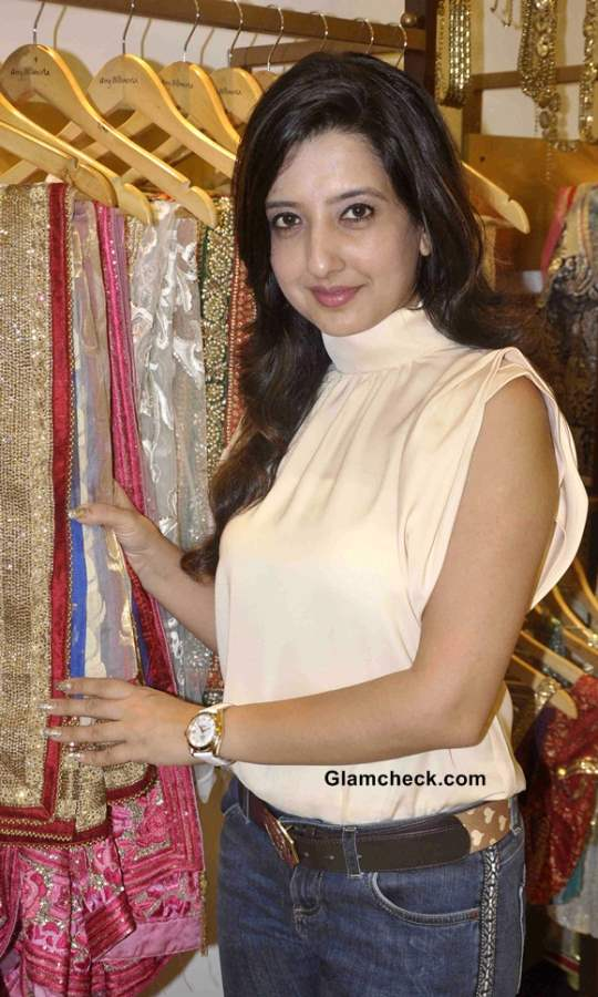 Amy Billimoria designs Navratri 2013 Wardrobe Falguni Pathak