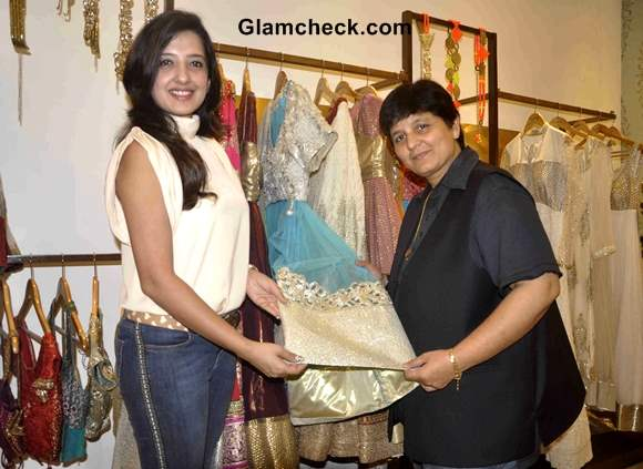 Amy Billimoria designs Navratri 2013 Wardrobe for Falguni Pathak