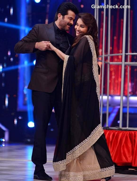 Anil Kapoor and Madhuri Dixit Reunite on Jhalak Dikhlaa Jaa