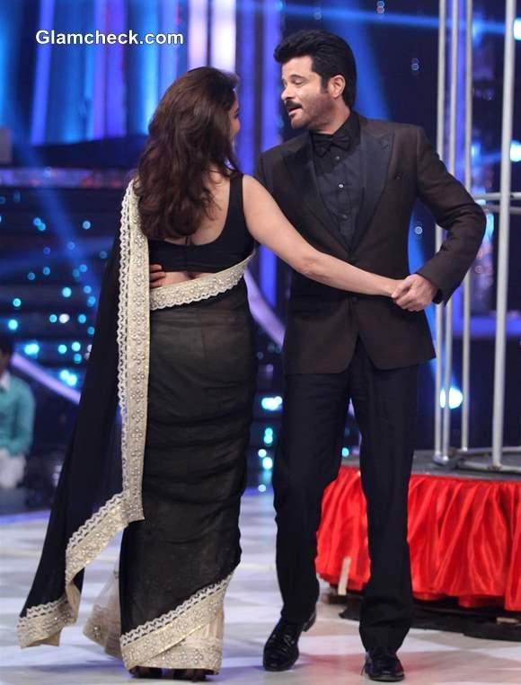 Anil Kapoor and Madhuri Dixit on Jhalak Dikhlaa Jaa