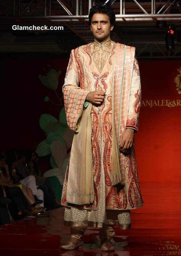 Anjalee Arjun Kapoor Mens Couture Collection 2013