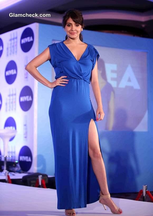 Anushka Sharma At The Launch Of Nivea Flaunt Your Back