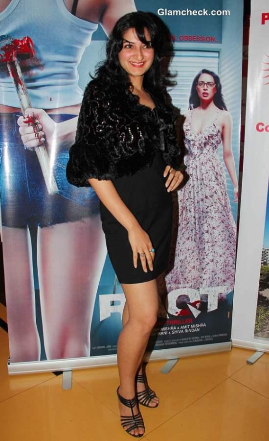 Aprijita Mahajan at Premiere of Raqt