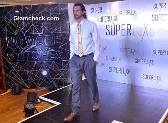 Arjun Rampal at  Arrow Superluxe Stitch-less Shirts Launch