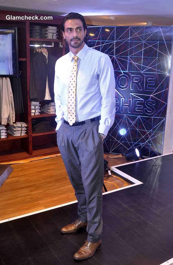 Arjun Rampal during the launch of Arrows stitchless shirt