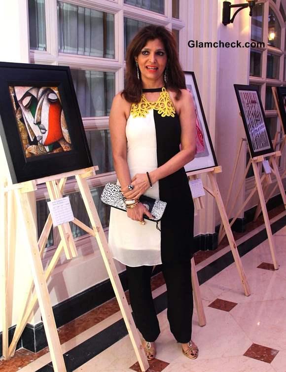 Artist Bina Aziz