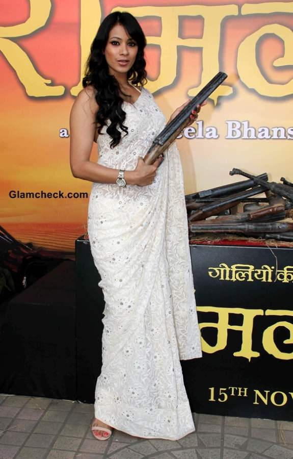 Barkha Bist at Ram Leela Trailer Launch 2013