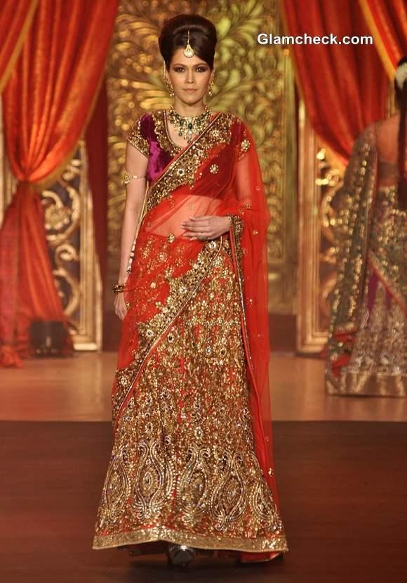 Bridal Couture 2013 Vikram Phadnis