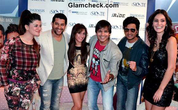 Cast of Grand Masti Walk the Ramp in Gurgaon