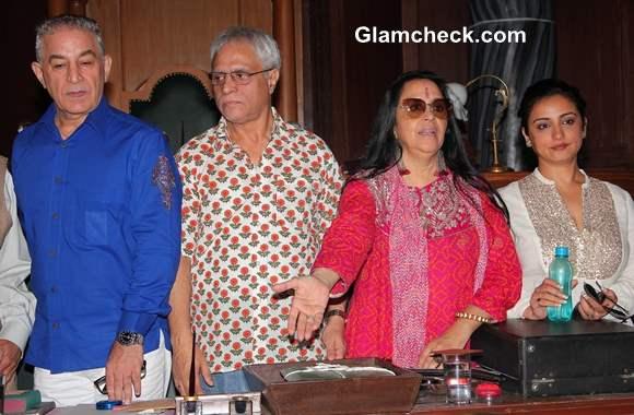 Cast of Samvidhaan Launch TV Series in Mumbai