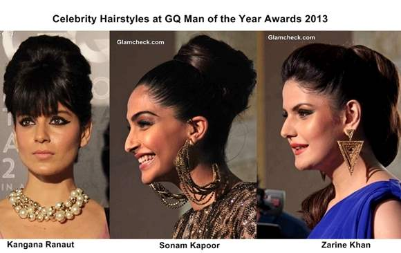 Celebrity Hairstyles at GQ Man of the Year Awards 2013