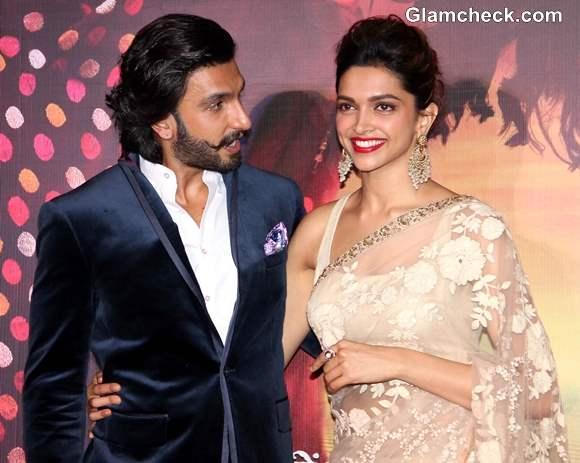 Deepika Padukone and Ranvir Singh in Ram Leela Movie
