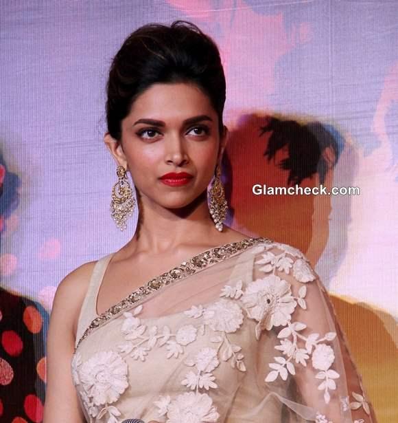 Deepika Padukone at Ram Leela Trailer Launch