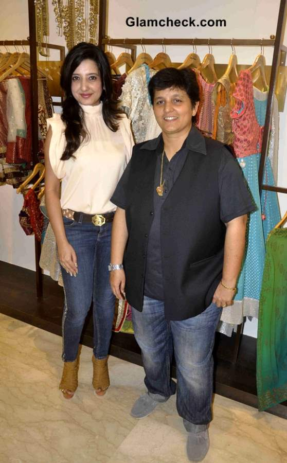 Designer Amy Billimoria creates Navratri 2013 Wardrobe for Falguni Pathak