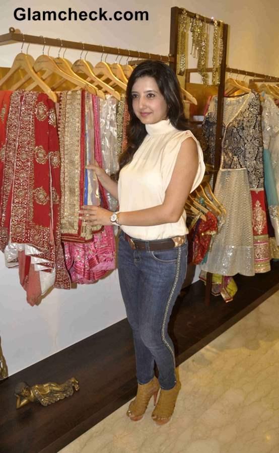 Designer Amy Billimoria designs Navratri 2013 Wardrobe for Falguni Pathak