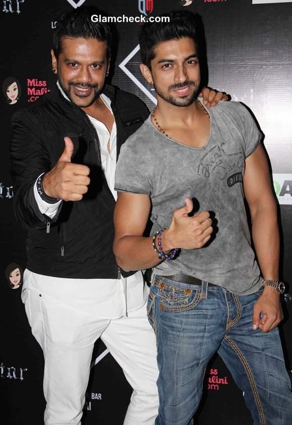 Designer Rocky S and DJ Deepesh Sharma