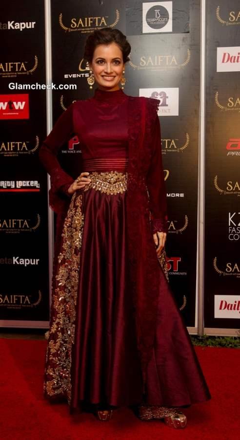 Dia Mirza at SAIFTA 2013