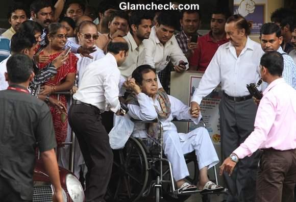 Dilip Kumar Discharged from Hospital on 26 September 2013