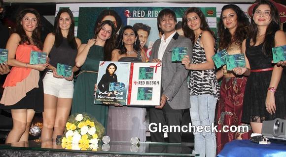 Grand Masti Cast Attend Lalitya Munshaw Album Launch
