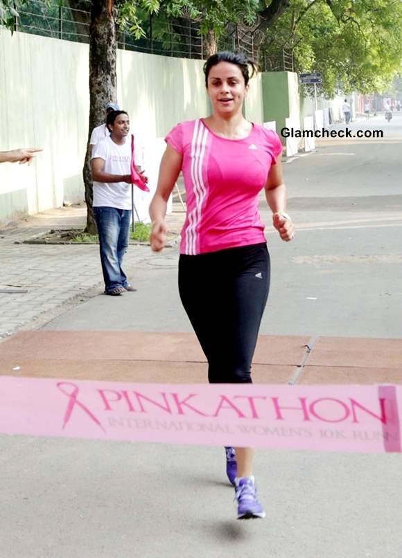 Gul Panag Spreads Breast Cancer Awareness