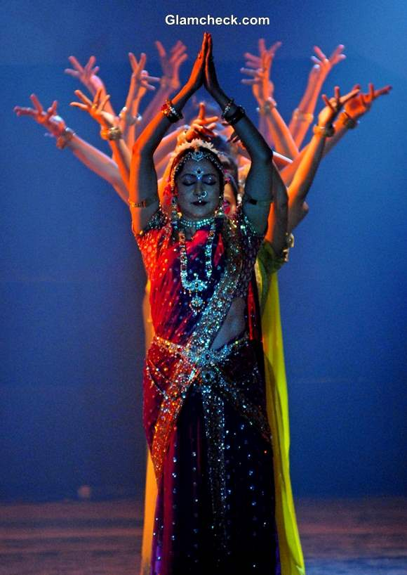 Hema Malini Perform During The Pune Festival 2013 in Pune