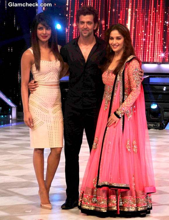 Hrithik Priyanka Madhuri on Jhaak Dikhlaa Ja Season Finale