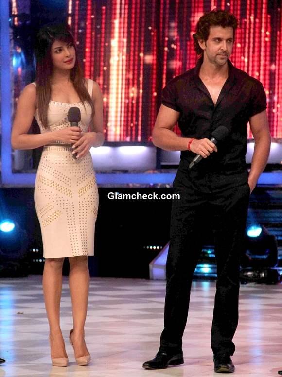 Hrithik and Priyanka on Jhaak Dikhlaa Ja Season Finale