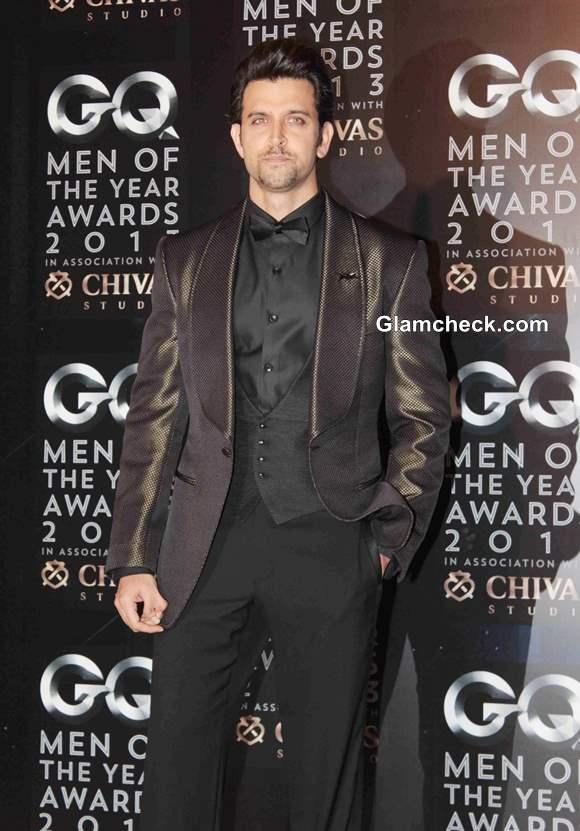 Hritik Roshan 2013 GQ Man of the Year Awards