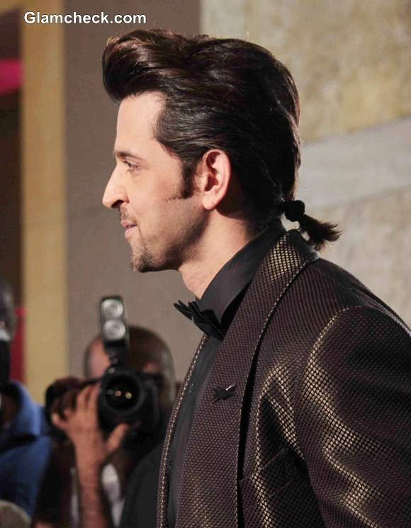 Hritik Roshan New Hairstyle Ponytail at GQ Man of the Year ...