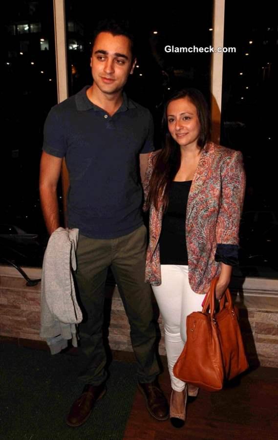 Imran Khan with Wife Avantika Malik 2013