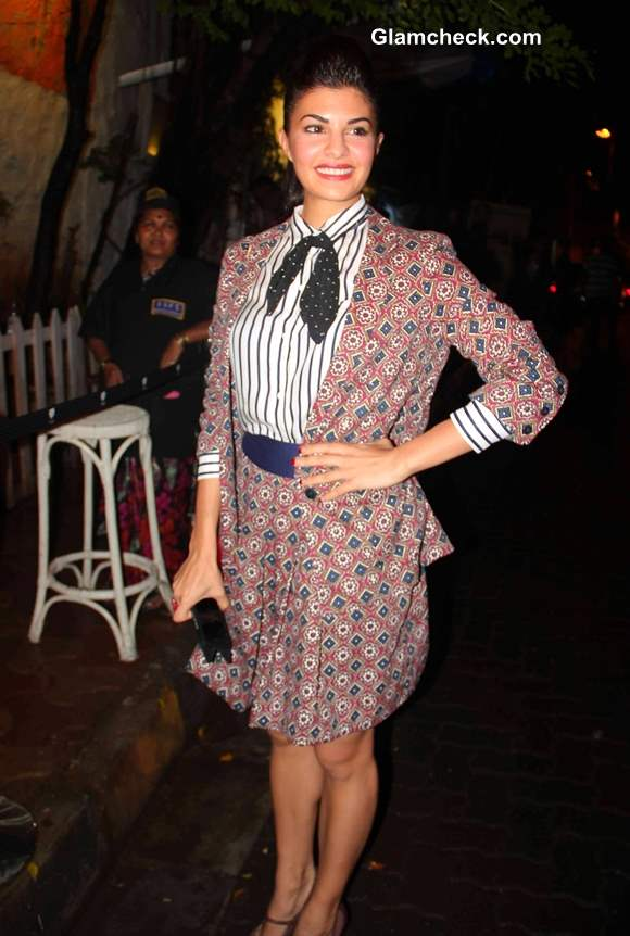 Jacqueline Fernandes at Bombay Street Style Party 2013