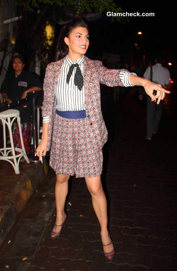 Jacqueline Fernandes at Bombay Street Style Party