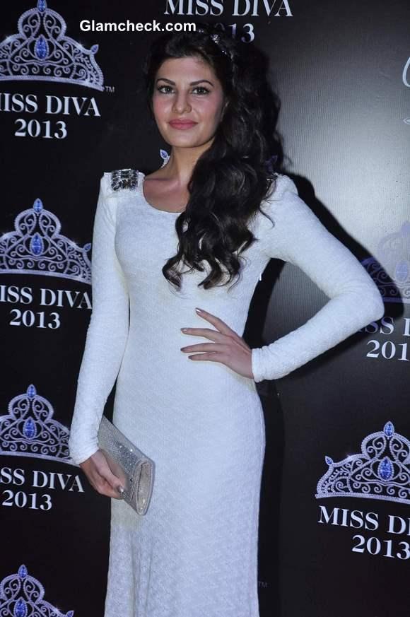 Jacqueline Fernandez at Miss Diva 2013