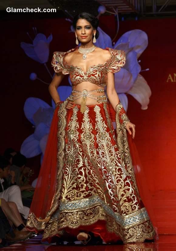 Jamawar Aria Couture Collection 2013 Anjalee Arjun Kapoor