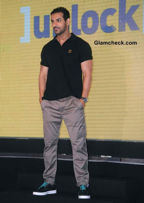 John Abraham Launches Unloack at National Geographic Channel