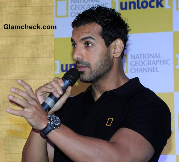 John Abraham New Face National Geographic Channel