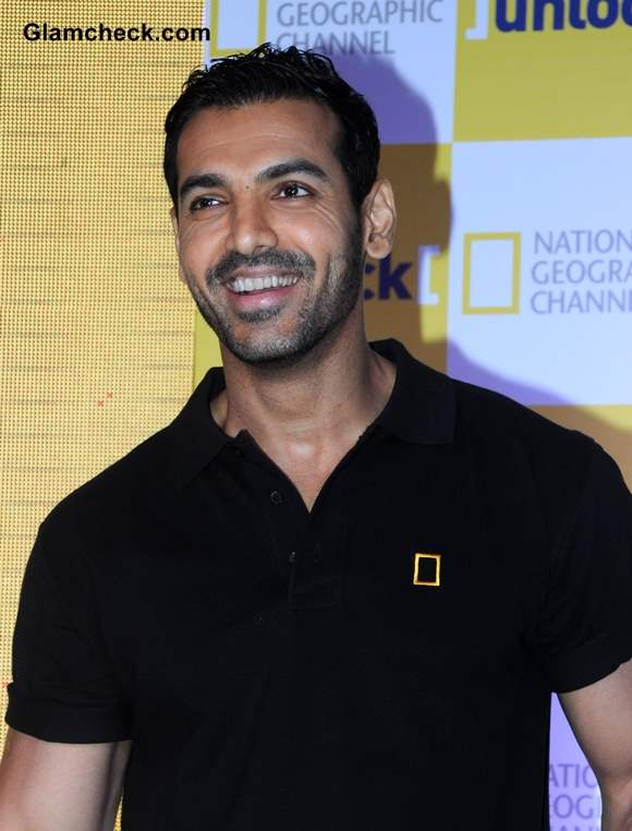 John Abraham New Face of National Geographic Channel